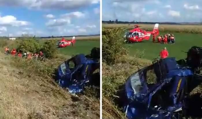 VIDEO / Accident grav în Constanţa! Un şofer a fost aruncat prin parbrizul TIR-ului pe care îl conducea