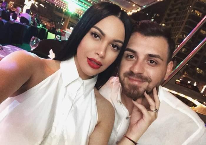 """FOTO / Betty Stoian şi Cătălin Vişănescu, fericire extremă: """"Vine!"""""""