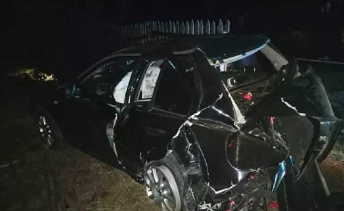 FOTO / Accident grav în Neamţ! O persoană a murit şi alte trei, printre care şi un copil, sunt rănite