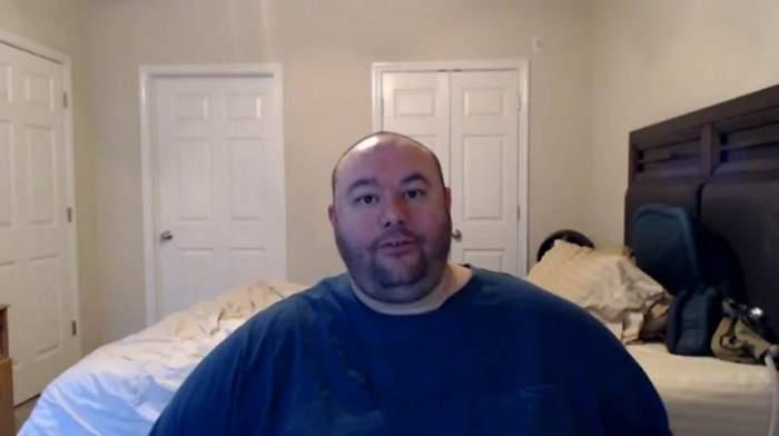 A ajuns la 184 de kilograme, soţia l-a părăsit şi nimeni nu voia să facă sex cu el. Bărbatul s-a transformat total şi a uimit întreaga planetă.  Aşa arată acum