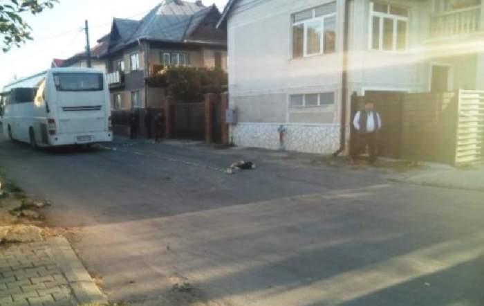 FOTO / Tragedie în Maramureş. Adolescent de 16 ani, călcat de auotubuzul din care tocmai coborâse