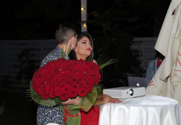 """VIDEO / Imagini de pus în ramă. Momentul inedit în care Nasrin a fost cerută în căsătorie. """"Tremur toată"""""""