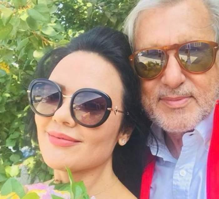 FOTO / Se iubesc oficial! Prima imagine cu Ilie Năstase şi Ioana, noua iubită, după divorţul de Brigitte