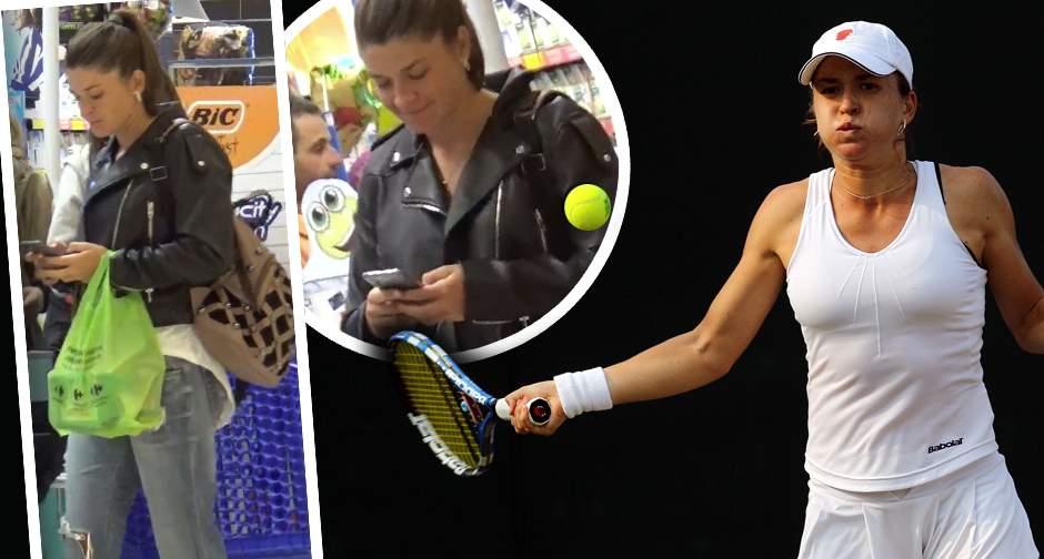 VIDEO PAPARAZZI / I-am aflat secretul! Cum se menţine în formă una dintre cele mai valoroase jucătoare de tenis din România