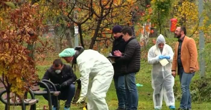 Caz şocant în Bihor! Un bărbat a fost găsit într-o baltă de sânge, în parc