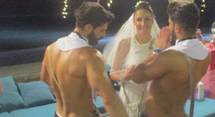 """FOTO / Prima nuntă de la """"Insula Iubirii"""", în această seară! Andreea devine mireasă şi Gabi dispare"""