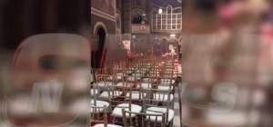 VIDEO & FOTO / Imagini exclusive de la nunta regală, de la Sinaia. Cum arată biserica în care se căsătoresc fostul Principe Nicolae şi Alina Binder