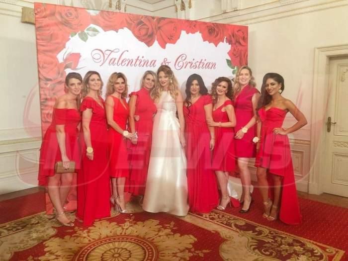 EXCLUSIV: Imagini de poveste de la nunta lui Cristi Borcea cu Valentina Pelinel