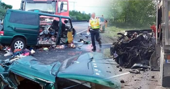 """Ipoteză șocantă în cazul accidentului din Ungaria! Apropiații lui Petru Kalau, șoferul """"microbuzului morții"""" au spus cine este vinovatul"""