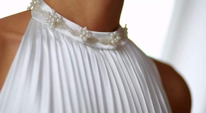 FOTO / Cum arată cea de-a doua rochie de mireasă a Alinei Binder, proaspăta soție a fostului Principe Nicolae