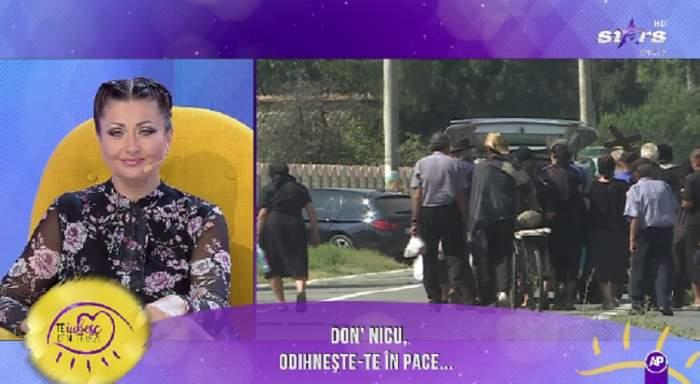 VIDEO / Lacrimi și durere în emisiunea Gabrielei Cristea. Domnul Nicu a fost condus pe ultimul drum
