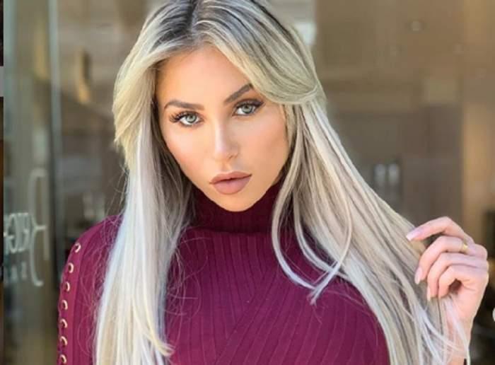 FOTO / Așa decolteu nu ai mai văzut niciodată! Cea mai sexy blondină de pe Instagram și-a scos bustul la înaintare