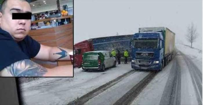 FOTO / Tânăr de 34 de ani, mort la volan în Franţa! Ionuţ era şofer de TIR şi muncea pentru un trai mai bun