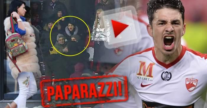 VIDEO PAPARAZZI / Soţia lui Sergiu Hanca a prins curaj! Cum s-a afişat Andreea, la mai puţin de o lună de când a fost agresată de fanii dinamovişti