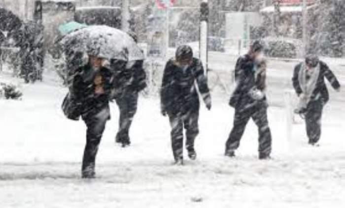România, din nou sub zăpadă. De luni noapte începe prăpădul!