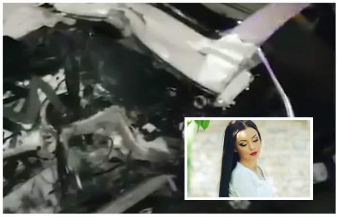 """VIDEO / Imagini șocante, imediat după accidentul din Florești, în care a murit Gabi Rîpan: """"Ia, mă, asta-i moartă!"""""""