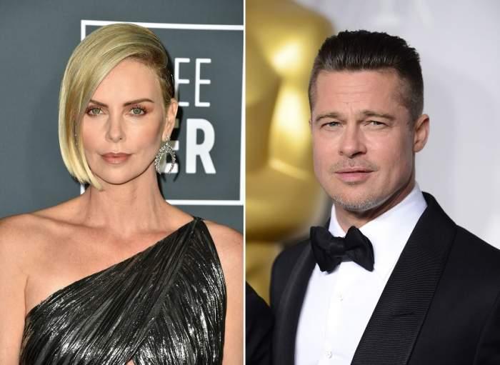 Care este adevărul relaţiei lui Brad Pitt cu Charlize Theron