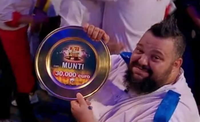 """VIDEO / Mihai Munteanu este marele câștigător al sezonului 6, """"Chefi la Cuţite"""". Sorin Bontea, cel mai fericit mentor!"""