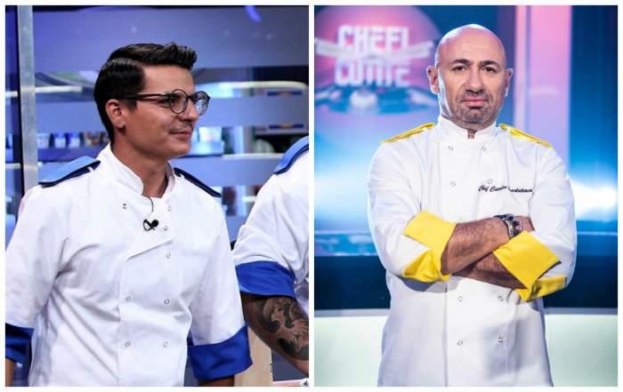"""Florin Nedelea, mesaj pentru Cătălin Scărlătescu, după finala """"Chefi la cuțite"""": """"M-ai rugat să te iert 20 de minute încontinuu"""""""