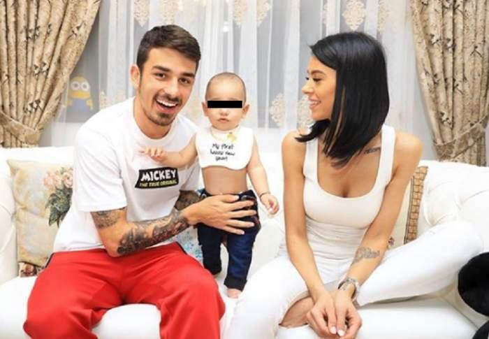 """Bucurie mare în familia lui Sergiu Hanca! Andreea, soția lui, însărcinată pentru a doua oară? """"Tati, venim 3 în Polonia, nu 2"""""""