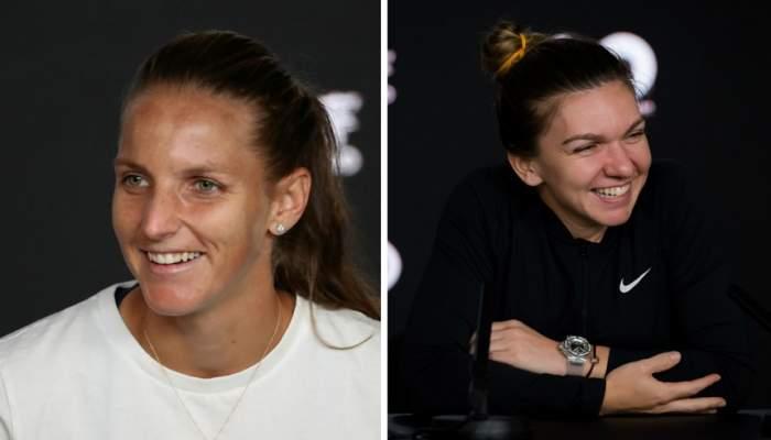 """Karolina Pliskova, despre posibilitatea de a o întrece pe Simona Halep in clasamentul WTA: """"Nu ştiu cine are şanse"""""""