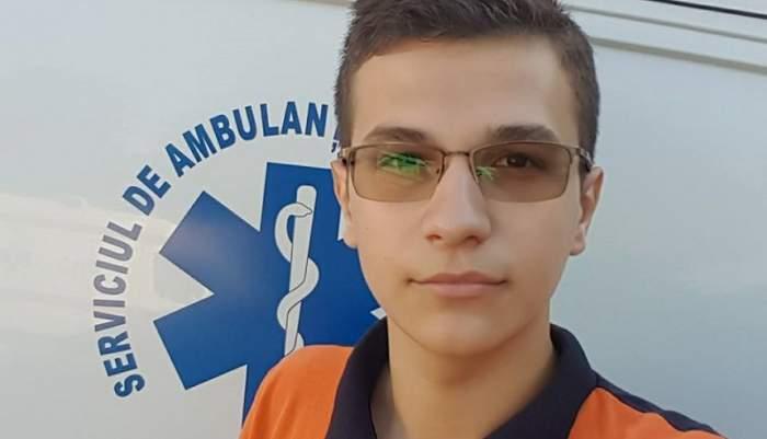 Cine este eroul care a salvat un tânăr căzut pe șinele metroului, la Costin Georgian