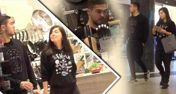 VIDEO PAPARAZZI / Rebelul Gabi Iancu a ajuns sub papucul iubitei! Fotbalistul, trimis direct în ale bucătăriei