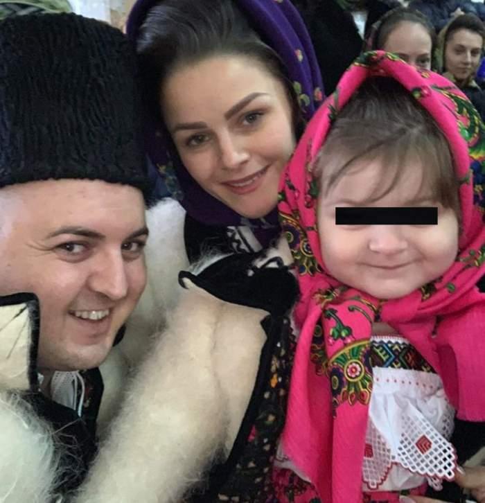 Vasilică Ceteraşu şi-a pus fetiţa în pericol. Ce a lăsat-o să facă la doar doi anişori