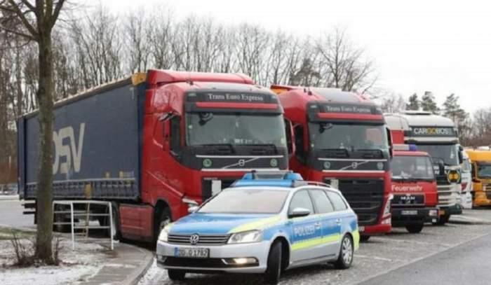 Şofer român de TIR, găsit mort în cabină, în Germania. Patronul îl căuta de trei zile
