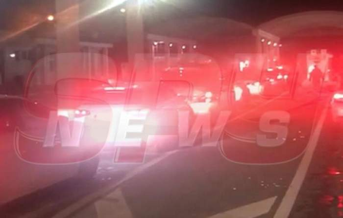 VIDEO / Blocaj de zile mari, la Vama Giurgiu. Șoferii sunt cu nervii la pământ