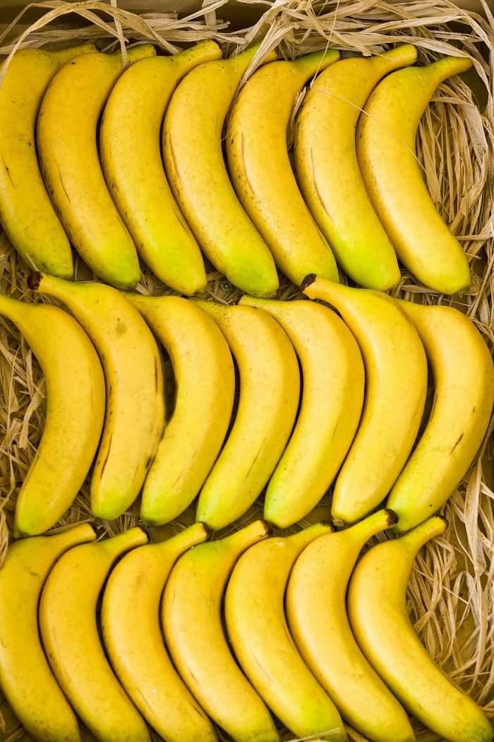 FOTO / Bananele, alimente miraculoase cu proprietăţi curatoare