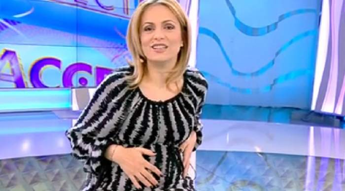 VIDEO / Simona Gherghe a dezvăluit în direct ce nume a ales pentru bebeluş!