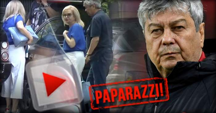 VIDEO PAPARAZZI / Soţia lui Mircea Lucescu, pusă într-o situaţie jenantă de omul de încredere al familiei! Cum era să o păţească Neli din cauza unei gafe