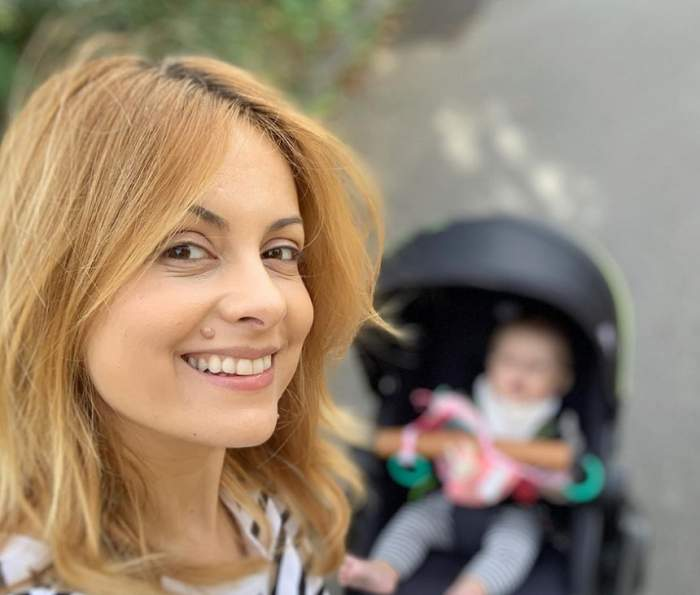 Ea este mama Simonei Gherghe! Prezentatoarea TV are ajutor de nădejde / FOTO