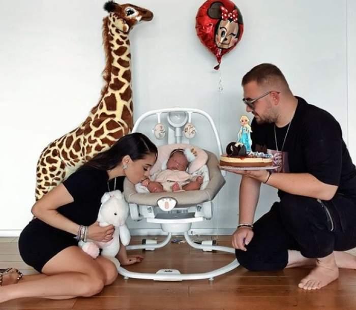 Carmen Simionescu, topită după cele mai importante persoane din viața ei! Cum i-a surprins artista pe fetiță și pe soțul ei. FOTO
