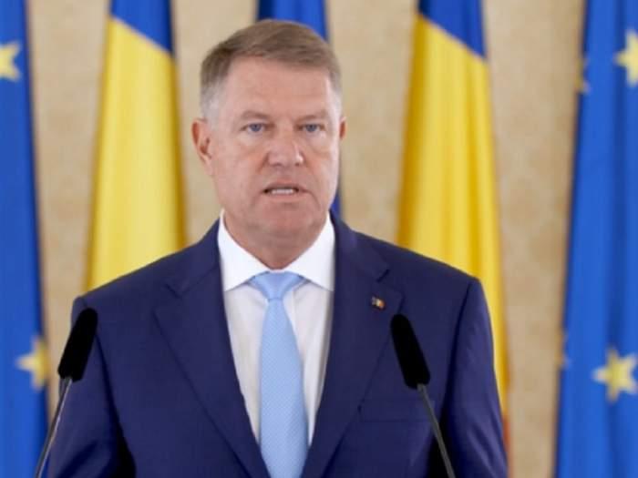 """Klaus Iohannis, primele declaraţii după căderea Guvernului Dăncilă: """"Rezolvat"""" / VIDEO"""