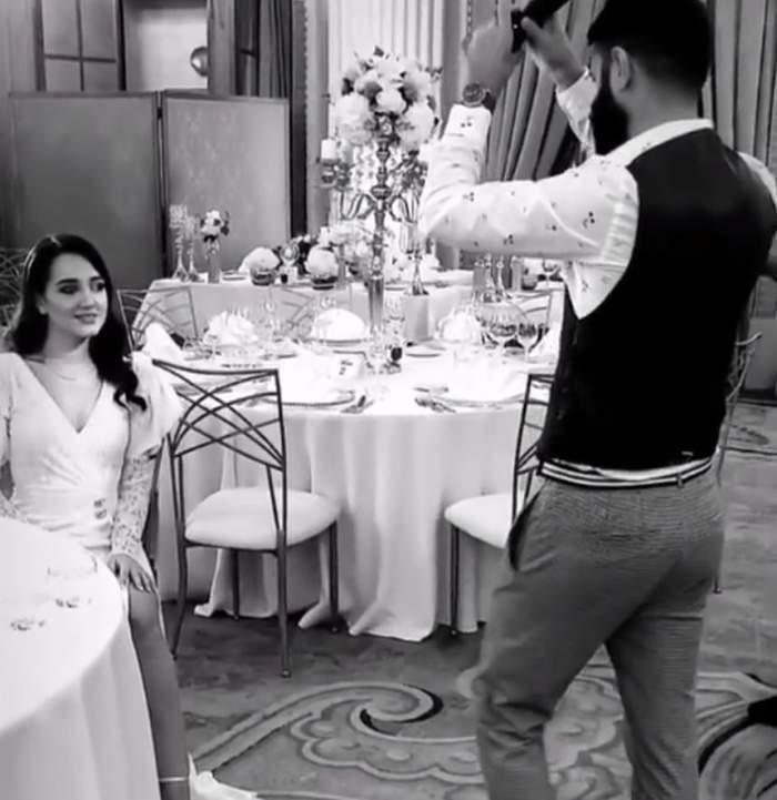 Imagini de senzaţie de la petrecerea dată de Gigi Becali în cinstea cununiei fiicei sale / VIDEO