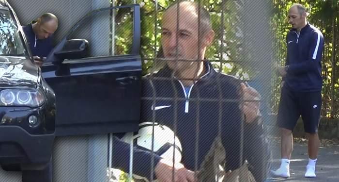 VIDEO PAPARAZZI / Imagini uluitoare cu cel mai mediatizat antrenor român al momentului! Ce a putut să facă în amiaza mare