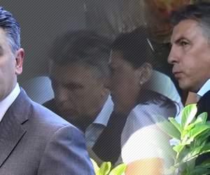 VIDEO PAPARAZZI / Ce-i mai place să trăiască pe picior mare! Iată cum se răsfaţă Ionuţ Lupescu atunci când e în preajma soţiei