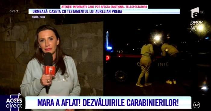 """Femeia din România care ar fi văzut-o pe Alexandra Măceşanu în Italia se teme să mai vorbească. """"M-a ameninţat că mă omoară"""""""