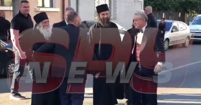 Gigi, ne-ai dat gata! Călugării de la Frăsinei, invitaţi la nunta Teodorei Becali! VIDEO EXCLUSIV