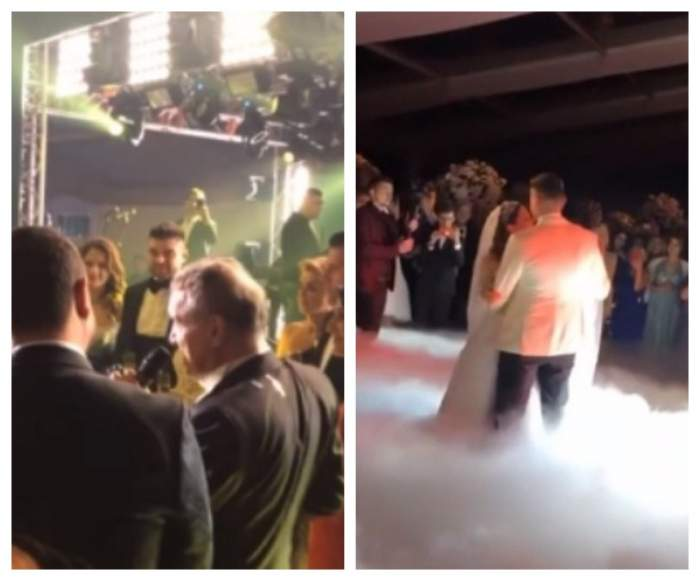 Imagini nemaivăzute de la nunta Teodorei, fiica lui Gigi Becali! Latifundiarul a dansat până dimineaţă