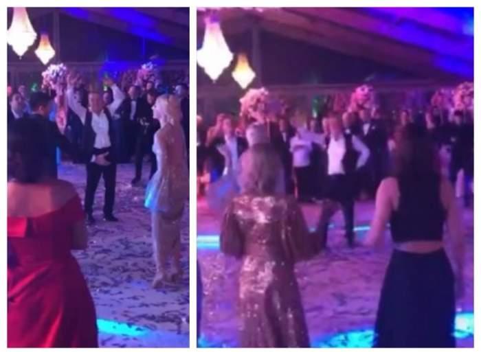 Gigi Becali, aşa cum nu a mai fost văzut vreodată! S-a dezlănţuit în mijlocul invitaţilor, la nunta fiicei. VIDEO