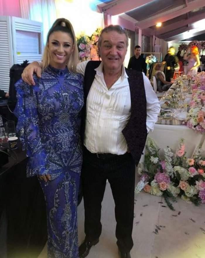 Anamaria Prodan, apariţie spectaculoasă la nunta fiicei lui Gigi Becali. Rochia sa a costat cât o garsonieră! GALERIE FOTO