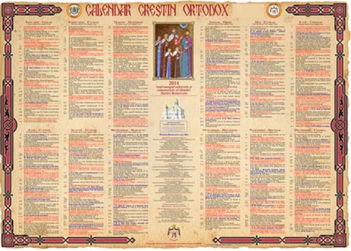 Calendar ortodox, marţi, 15 octombrie. Un mare Sfânt este prăznuit la o zi după sărbătoarea Sfintei Cuvioase Parascheva