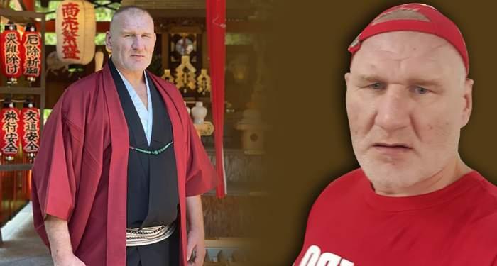 Tolea Ciumac, într-o ipostază incredibilă / Ce a fost obligat să facă luptătorul MMA!