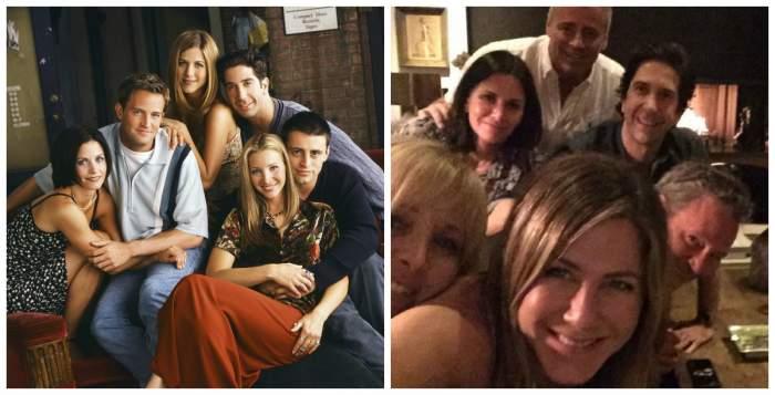 """Actorii din """"Prietenii tăi"""", prima poză în formulă completă, de la terminarea serialului! Cu ce ocazie s-au reunit"""