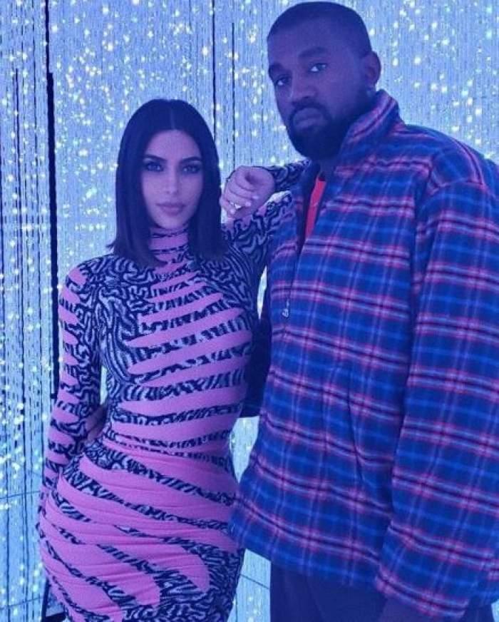 Ceartă uriaşă între Kim Kardashian şi Kanye West! Care este motivul