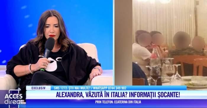 Alexandra Măceşanu, văzută în zona Napoli? O femeie jură că a privit-o în ochi pe 30 iulie. VIDEO