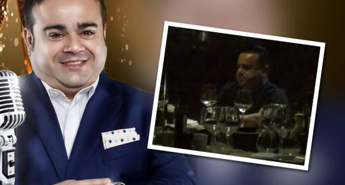 VIDEO PAPARAZZI / Imagini uluitoare cu Adrian Minune şi amanta! Cei doi amorezi, surprinşi în timp ce beau vin de la portbagaj într-un restaurant de lux